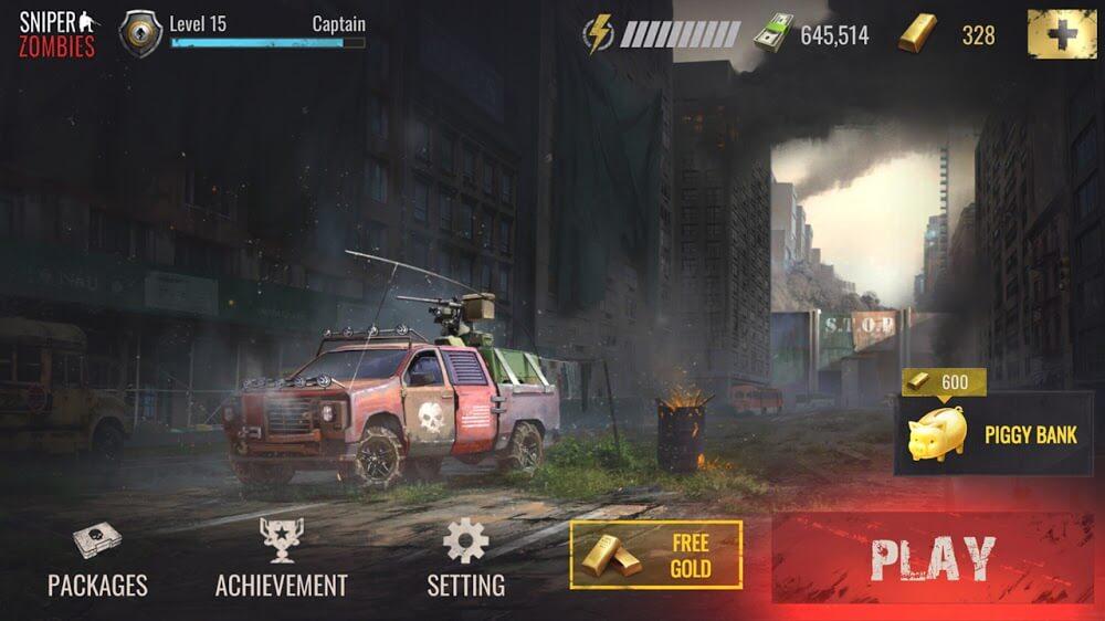 Sniper Zombie mod apk